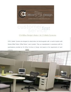 Series 1 & 2 Cubicle Catalog