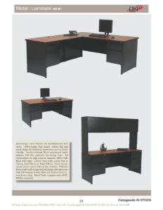 Heavy Duty Metal Desk Range Brochure