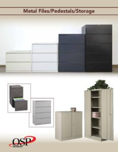 Metal Files & Storage Cabinets Brochure