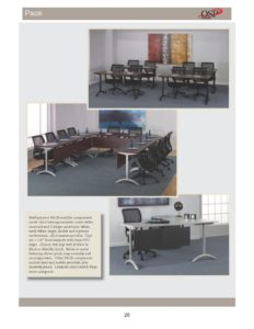 Pace – Modular Tables & Desks Brochure