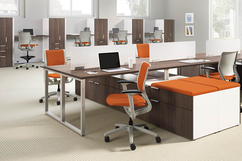 Super The Pros Cons Of Modern Desking Systems Ca Office Design Interior Design Ideas Ghosoteloinfo