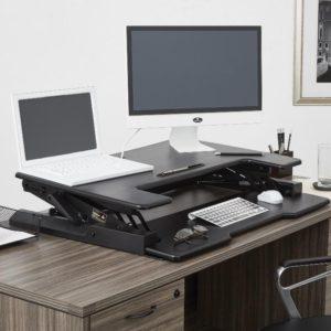 Height Adjustable Desk / Riser - Down