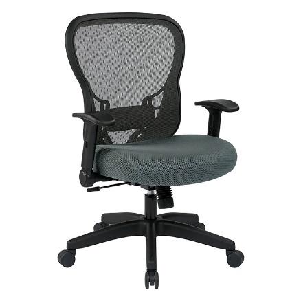 SpaceGrid Ergonomic Task Chair - Black
