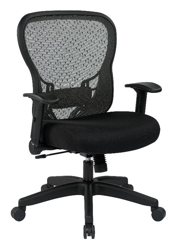 SpaceGrid Ergonomic Task Chair - Black