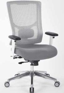 Pro-Grid White Mesh High Back Chair